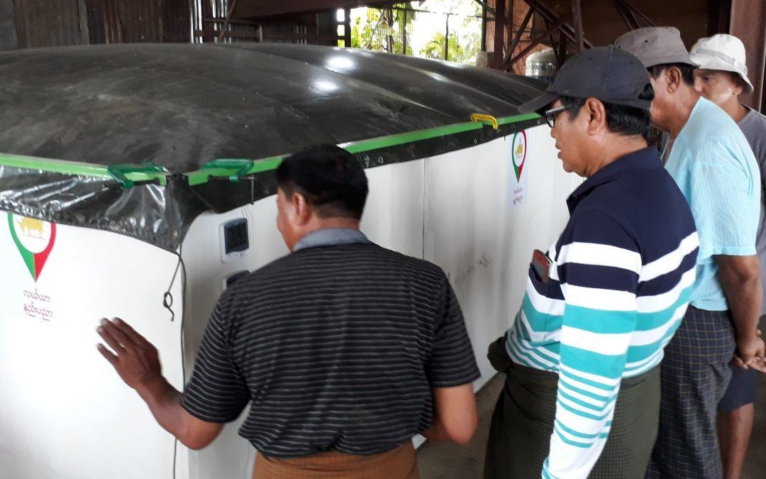 Access to drying and better profits for Myanmar farmers